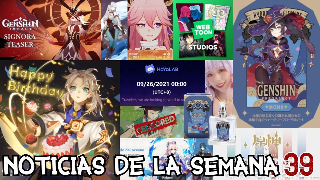 Perfume Fragancia Mona Stonks + Colaboración con Webtoon + Hoyo Festival Aniversario   Noticias 39