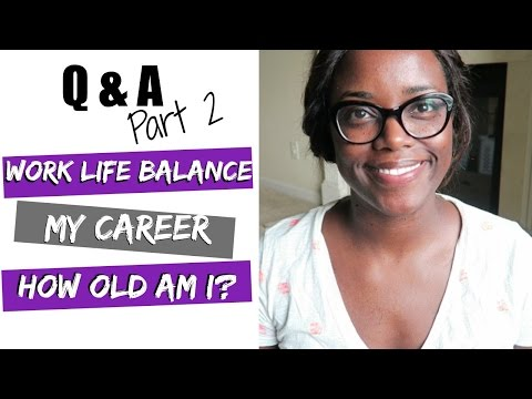 Q&A | WORK LIFE BALANCE | MY CAREER | BEING A WORKING MOM