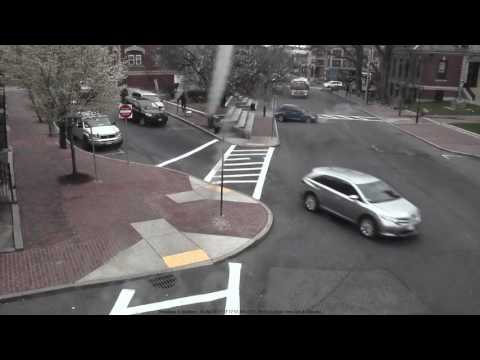 Chelsea, MA  Drunk driver narrowly misses pedestrians and damages Chelsea City Hall