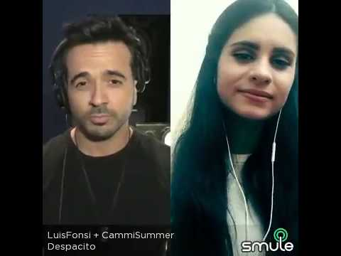 Despacito | Luis Fonsi ft Daddy yankee (smule duet)