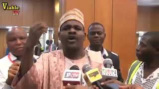 Hon Kazure Reveals Why Lawmakers shouted at Buhari during 2019 budget presentation