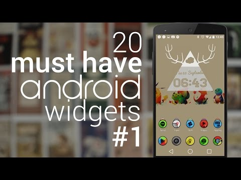 20 Must Have Android Widgets | #1