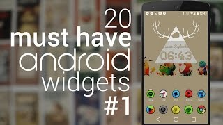 20 Must Have Android Widgets   #1