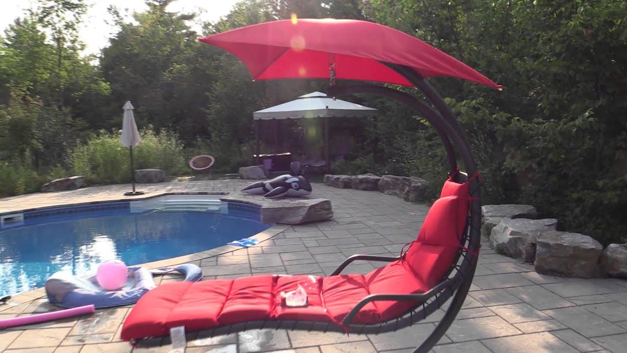 Floating Luxury Hammock Dream Chair Youtube