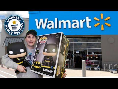 """18"""" Batman Funko Pop Hunting  World's Largest Funko Pop"""