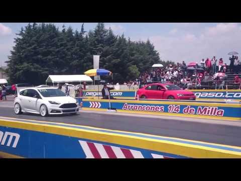 Focus ST vs Jetta GLI Mk6 2do jale   Julio 2017