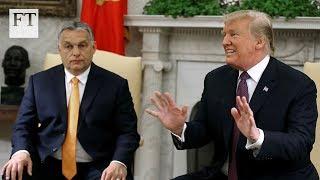 Donald Trump praises Hungary's Viktor Orban on immigration