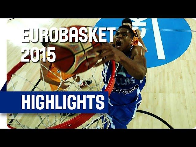 Ευρωμπάσκετ 2015 | ΠΓΔΜ-Ελλάδα 65-85 🏀 Video με στιγμιότυπα του αγώνα και με τις δηλώσεις των Παπανικολάου, Κουφού, Σλούκα και ο Φώτη Κατσικάρη