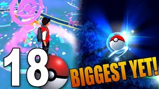 BIGGEST WILD CATCH YET! - Pokemon GO Part 18