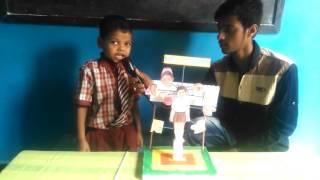 (Parts of the body)Science fair SHIVANI MODEL SCHOOL by LkG