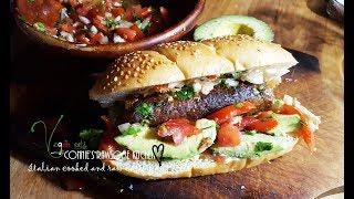 VEGAN GOURMET SUMMER BBQ SMOKEY MEXICAN PLANTAIN SAUSAGE  | Connie's RAWsome kitchen - ASMR