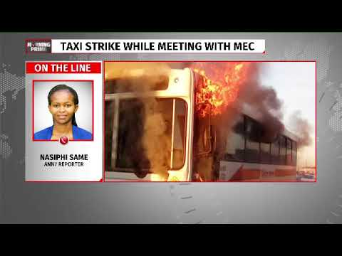 Taxi strike turns Violent in  Cape Town