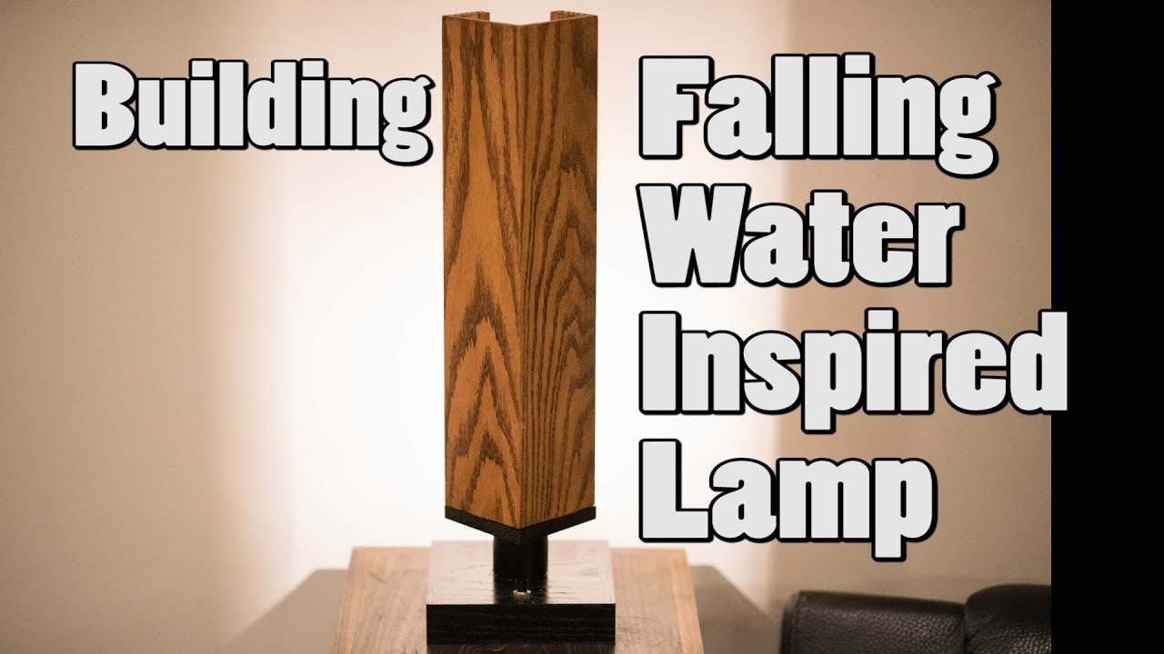 Building Falling A Inspired Lamp Water ChtrxQds