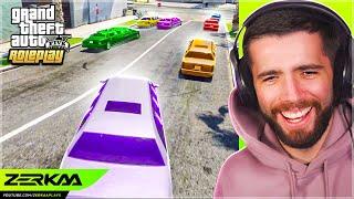 LIMO RACING In GTA 5 RP?!