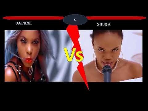 Daphne ft Shura - my lover vs allez dire
