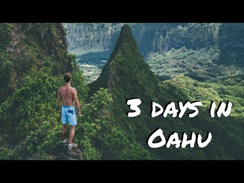 3 days in Oahu