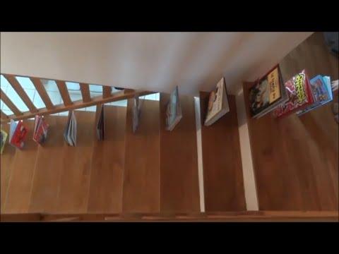 Dominos stairs tricks !