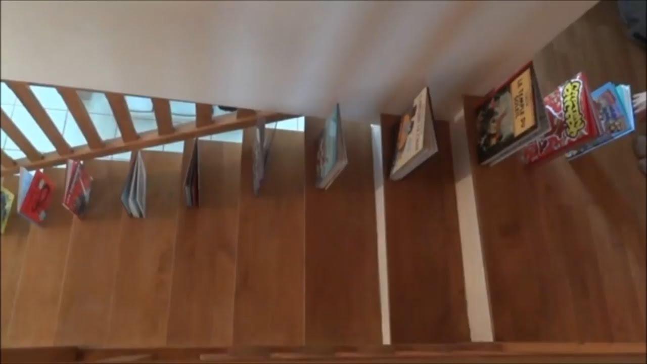 Dominoes stairs tricks