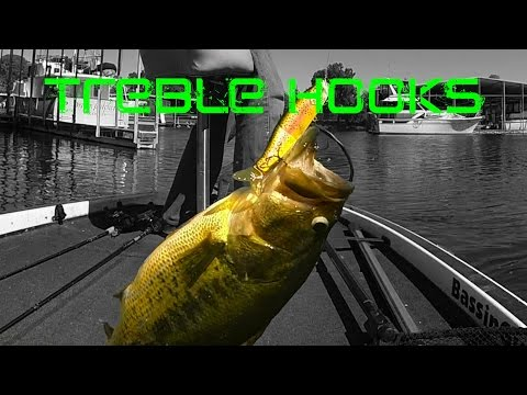 Bass Fishing: Treble Hooks And Lure Modifications