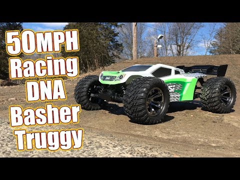 50MPH 4WD Electric Truggy With Racing DNA - Losi Tenacity-T 1/10-Scale Truggy RTR Review   RC Driver