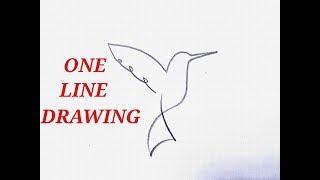 line easy drawing simple single challenge stroke