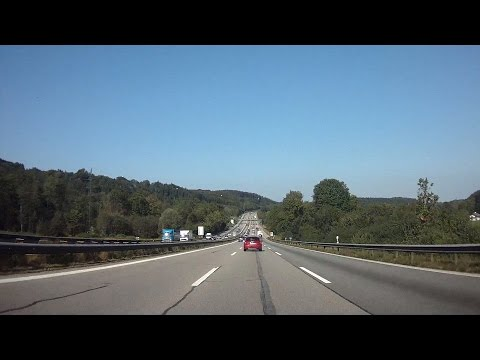 A8 Rosenheim - München / Germany