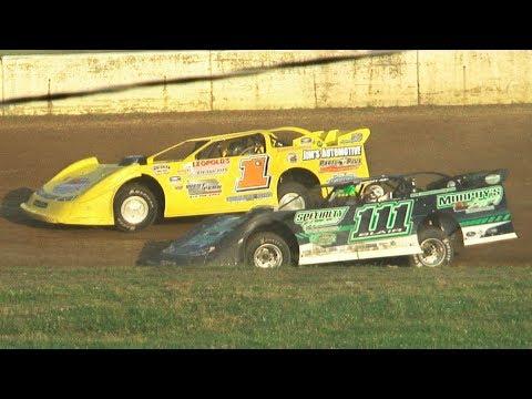 Super Late Model Heat Two | Eriez Speedway | 8-4-19
