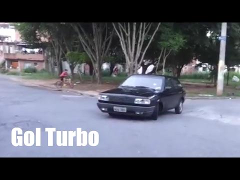 Gol AP 1.8 Turbo (só borracha) Barulho lindo