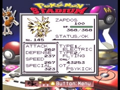 Pokémon Red - 'The Box Trick' Method Part 2 : L100 Zapdos gets 'Tricked' Out!