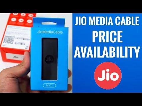 Jio Media Cable Price & Availability [Hindi]
