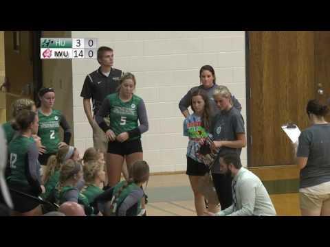 HU Women's Volleyball vs. Indiana Wesleyan University