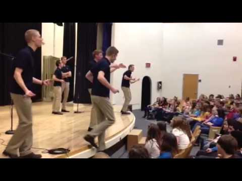 Vocal Point Workshop at Evanston Middle School