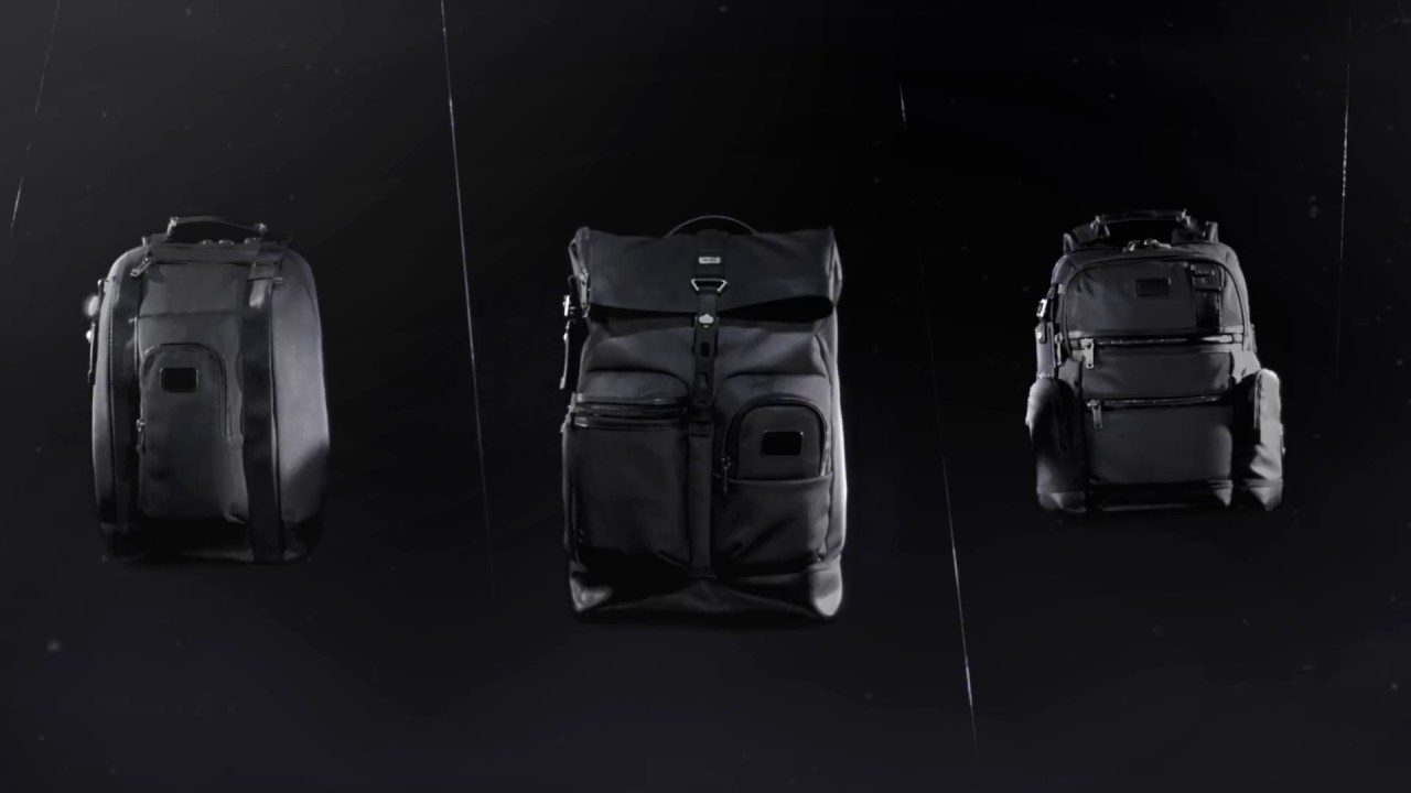 TUMI Alpha Bravo Reflective Collection - YouTube 4de6b83e426b2