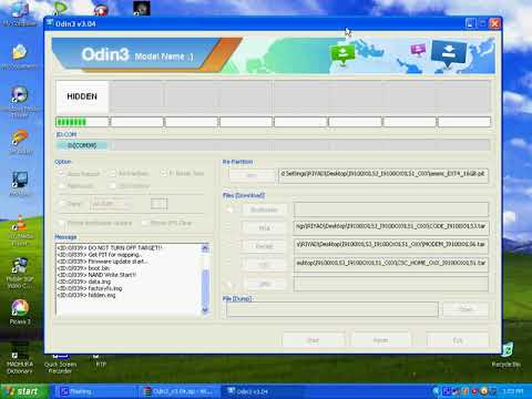 How To Flash Samsung Anycall M250S K L Convert to GT I9100 Odin Tool