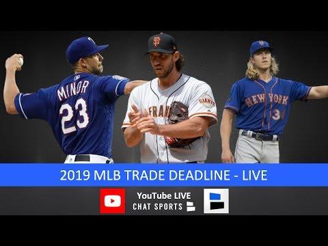 MLB Trade Deadline Live – 2019