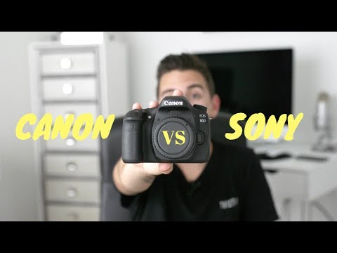 I RETURNED THE SONY A6500 FOR A CANON 80D - Here's why!