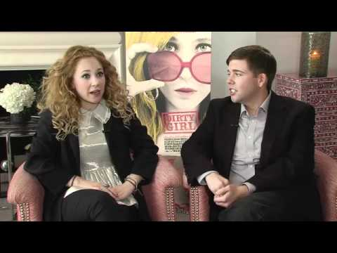 Dirty Girl: Juno Temple and Jeremy Dozier Junket