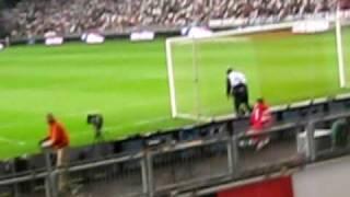 Voor Ajax-Marseille Andre rieu