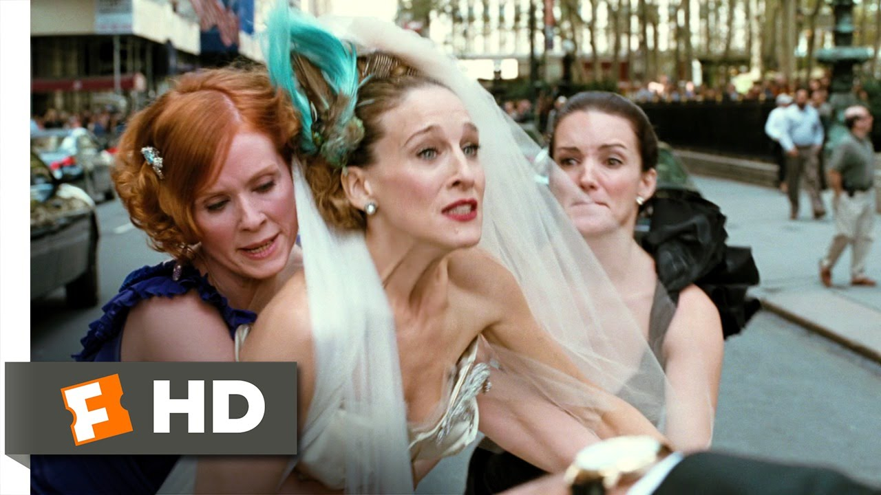 Sex and the city movie wedding scene