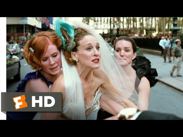 Sex and the city movie end bathing