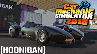 NEW HOONIGAN MAP!   1989 Batmobile   Car Mechanic Simulator 2018