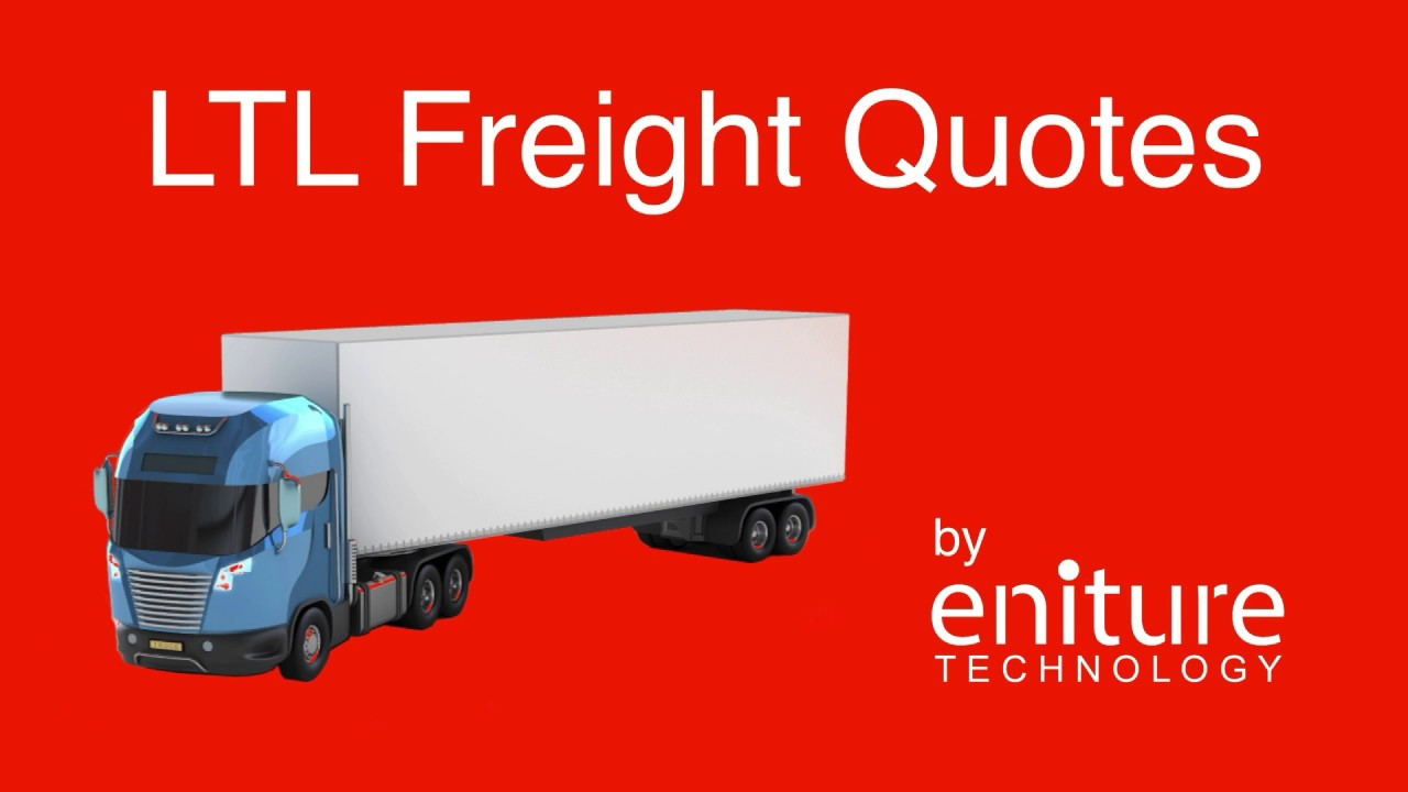 Freight Quote Ltl Prepossessing Ltl Freight Quotes For Shopify  Youtube
