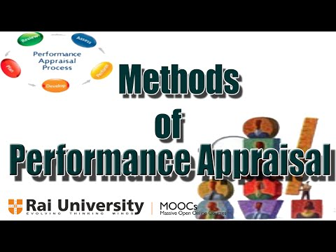 Methods of performance appraisal (Human resource management)