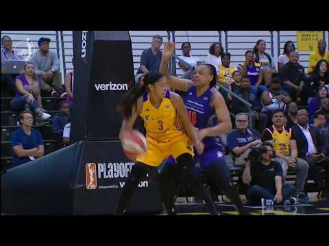 Candace Parker Drops 24p, 13r, 6a, 3b, 2s in Semifinals Game 2 Win!