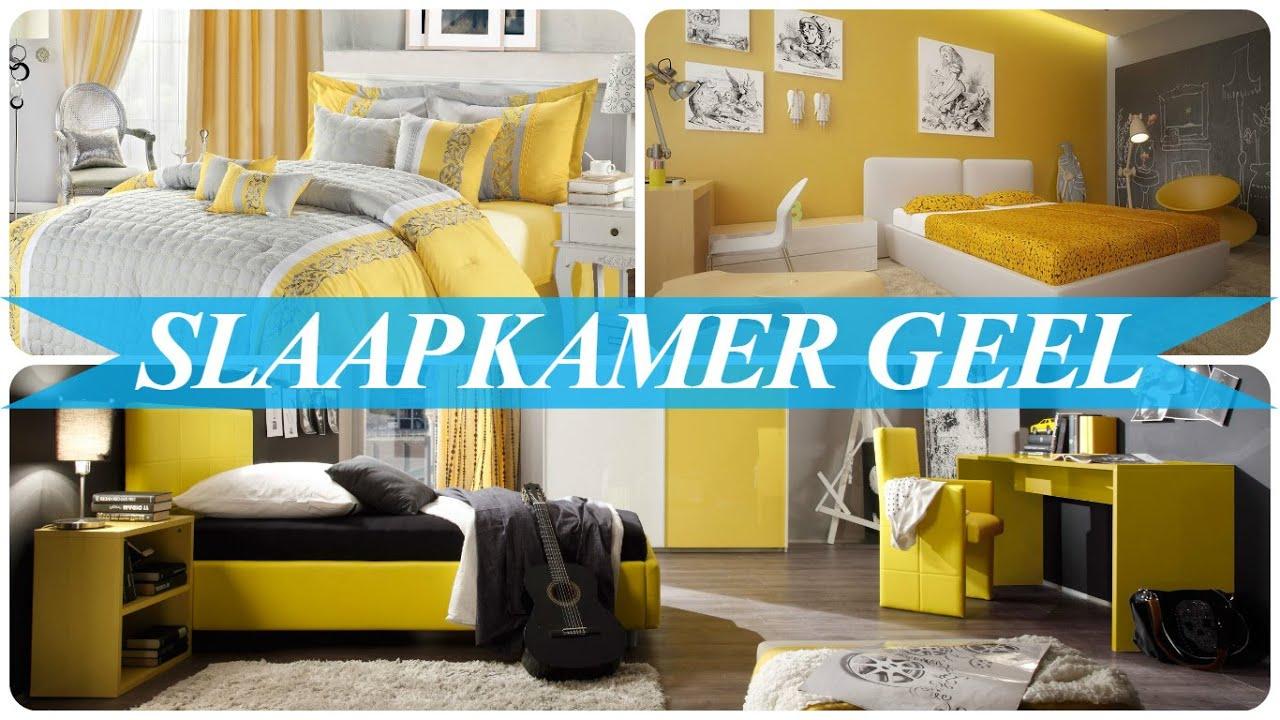 Slaapkamer geel - YouTube