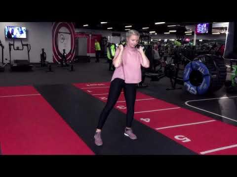 10 Minute Workouts | Sandbag Strides | DW Fitness First