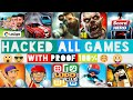 All Games Unlimited Money Hacked / 100% Working With Proof