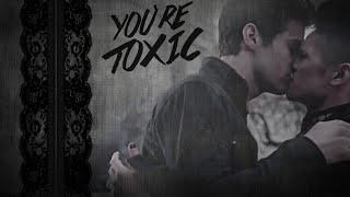 alec & magnus | you're toxic