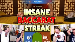 Insane Baccarat winning streak