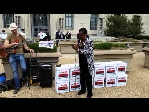 #SandraBland Petition Delivery to the DOJ in DC
